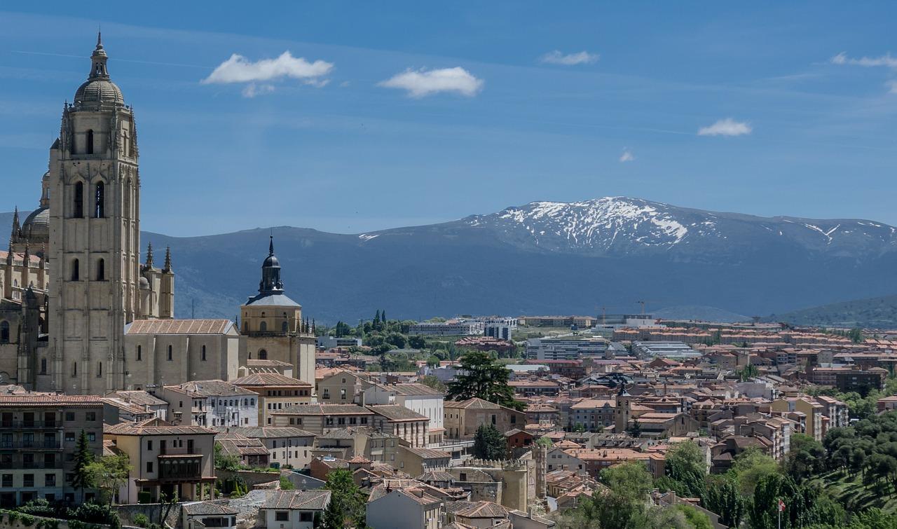 Μαδρίτη βουνά θέα