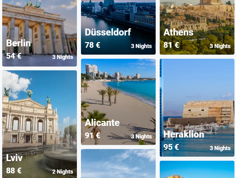 αεροπορικά εισιτήρια από Θεσσαλονίκη